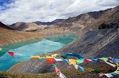 .lake With Turquoise Water, Tibet
