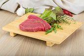 Raw Tuna Steak