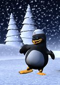 3D Dancing Penguin