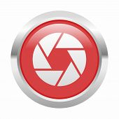 image of objectives  - Camera objective icon as a symbol of camera objective - JPG