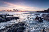 Wembury Beach Sunset