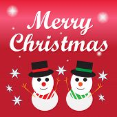 Merry Christmas lettering,Christmas Greeting Card.