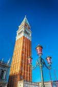 San Marco Steeple Under A Blue Sky