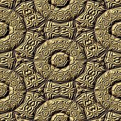Mayan Ornaments Seamless Hires Generated Texture