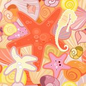 Starfish  Background In Crustacean