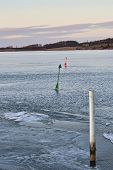 Buoys In The Ice