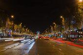 PARIS, FRANCE - 29 NOVEMBER, 2014: Champs Elysees Avenue, Paris (France)