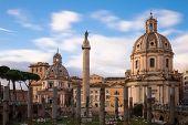 Trajan's Forum - Long Exposure Version