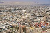 Arica city, Arica, Chile.