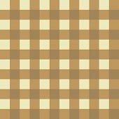 Muted beige and yellow seamless checkered background