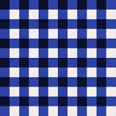 Bold dark and middle blue and white, seamless checkered background