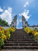 pura besakih, the biggest temple in bali, indonesia