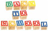 Alphabet Blocks Back To School