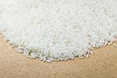 foto of jasmine  - White Long Grain Rice Texture Jasmine For Background - JPG