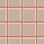 picture of intersection  - Seamless checkered pattern in warm colors - JPG