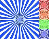 image of starburst  - Radiating converging lines rays background - JPG