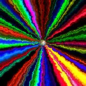 pic of lsd  - Crazy abstract melted colorful shapes as wallpaper - JPG