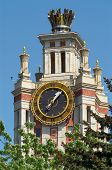 Clock Of The Moscow State University