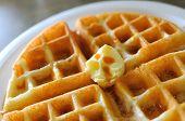Delicious Waffle Breakfast