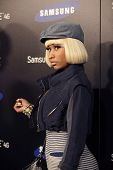 LOS ANGELES - MAY 12:  Nicki Minaj arriving at the  Samsung Infuse 4G For AT&T Launch Event at Milk