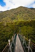 Suspension Bridge in New Zealand