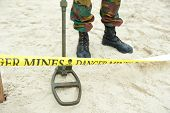 Peligro minas