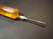 Needle With Syringe