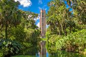 Lake Wales, Florida, USA at Bok Tower Gardens. poster