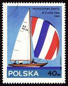 Yate Finn en sello de correos