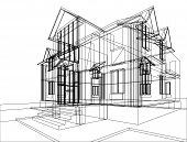 House Construction Sketch