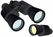 Binocular and monocular
