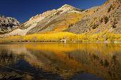 Mountain Lake, Fall Colors