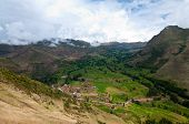 Mountain view, Pisac Peru
