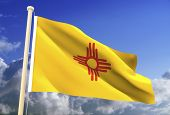 New Mexico Flag (Clipping Path)