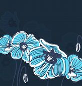 Blue Elegance Background