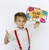 Kids Children Youngster Cool Awesome poster