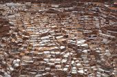 Ancient Salt Basins at Maras, Peru