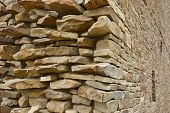 Stone Wall, Chaco Canyon
