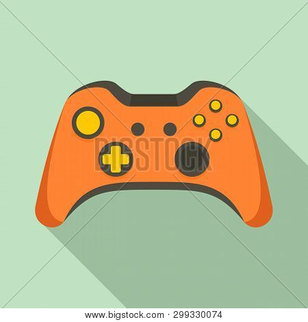 poster of Video Game Controller Icon. Flat Illustration Of Video Game Controller Icon For Web Design