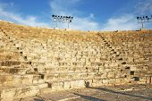 Ancient Amphitheater In Kourion