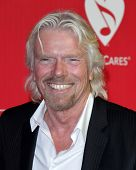 LOS ANGELES - FEB 10:  Richard Branson arrives at the 2012 MusiCares Gala honoring Paul McCartney at