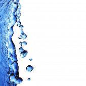 macro aisladas gotas (agua serie B)