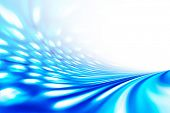 blue flow background