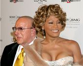 LOS ANGELES - FEB 10:  Clive Davis, Whitney Houston arrives at the Clive Davis Annual Pre-Grammy Par