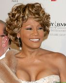 LOS ANGELES - FEB 10:  Whitney Houston arrives at the Clive Davis Annual Pre-Grammy Party at Beverly