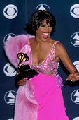LOS ANGELES - FEB 23:  Whitney Houston arrives at the 1998 Grammy Awards at Staples Center on Februa