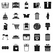 Cupboard Icons Set. Simple Set Of 25 Cupboard Icons For Web Isolated On White Background poster