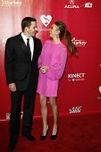 LOS ANGELES, CA - FEB 10: Bill Rancic; Giuliana Rancic at the 2012 MusiCares Person of the Year Trib