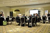 LONDON - JAN 30: Working meeting during the 59th UICH les Clefs d'Or International Congress at the S