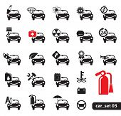 Car Service Icons, Set 03